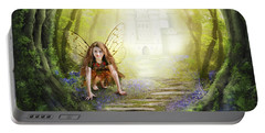 Little Fairy In The Woods Portable Battery Charger