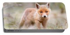 Little Fox Kit, Big World Portable Battery Charger
