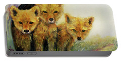 Little Foxes Portable Battery Charger