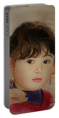 Little Girl Portable Battery Charger