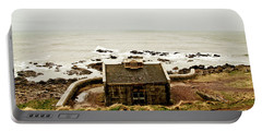 Little House At The Nigg Bay. Portable Battery Charger