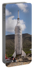Portable Battery Charger featuring the photograph Little Joe 2 Rocket by Allen Sheffield