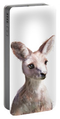Little Kangaroo Portable Battery Charger by Amy Hamilton