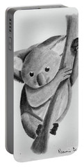 Little Koala On A Tree Portable Battery Charger