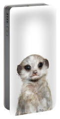 Little Meerkat Portable Battery Charger by Amy Hamilton