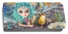 Little Mermaid Portable Battery Charger by Mo T