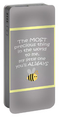 Little One You'll Always Bee Portable Battery Charger by Inspired Arts