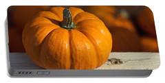 Little Pumpkin Portable Battery Charger by Joseph Skompski