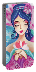 Little Quan Yin Mermaid Portable Battery Charger