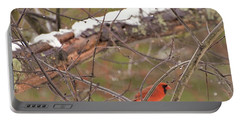 Little Red Bird Portable Battery Charger