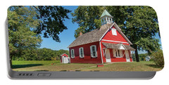 Little Red School House Portable Battery Charger