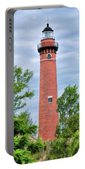 Portable Battery Charger featuring the painting Little Sable Lighthouse by Christopher Arndt