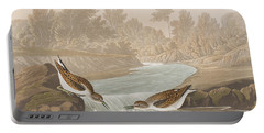 Little Sandpiper Portable Battery Charger by John James Audubon