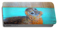 Little Seal Portable Battery Charger by Ann Michelle Swadener