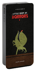 Little Shop Of Horror Minimalist Alternative Poster Portable Battery Charger