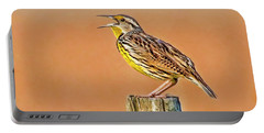 Little Songbird Portable Battery Charger by HH Photography of Florida