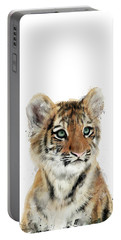 Little Tiger Portable Battery Charger by Amy Hamilton