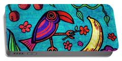 Little Toucan Portable Battery Charger by Sarah Loft