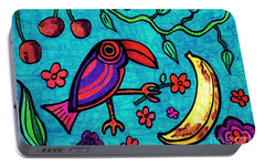 Little Toucan Portable Battery Charger by Sarah Loft
