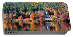 'little White Church', Eaton, Nh Portable Battery Charger