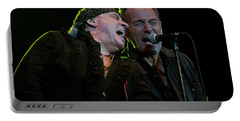 Portable Battery Charger featuring the photograph Live At The Paramount by Jeff Ross