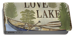 Live, Love Lake Portable Battery Charger