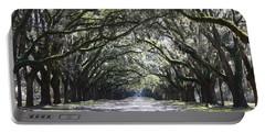 Live Oak Lane In Savannah Portable Battery Charger