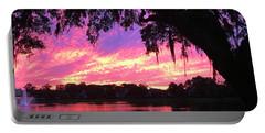 Live Oak Sunset Portable Battery Charger