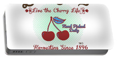 Live The Cherry Life Portable Battery Charger
