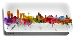 Liverpool England Skyline Panoramic Portable Battery Charger
