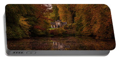 Living Between Autumn Colors Portable Battery Charger
