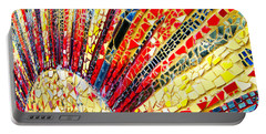 Living Edgewater Mosaic Portable Battery Charger by Kyle Hanson
