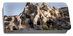 Living In Tufa Portable Battery Charger by Kathy McClure