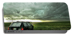 Living Saskatchewan Sky Portable Battery Charger by Ryan Crouse