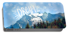 Portable Battery Charger featuring the photograph Living The Dream by Robin Dickinson