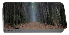 Portable Battery Charger featuring the photograph Loblolly Lane by Robert Geary