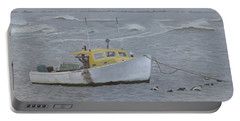 Lobster Boat In Kettle Cove Portable Battery Charger