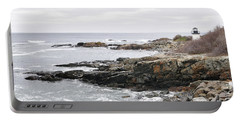 Lobster Point Lighthouse - Ogunquit Maine Portable Battery Charger