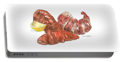 Lobster Tail And Meat Portable Battery Charger