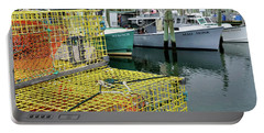Lobster Traps In Galilee Portable Battery Charger