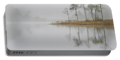 Loch Ard Misty Sunrise Portable Battery Charger