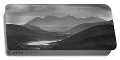 Loch Glascarnoch And An Teallach Portable Battery Charger