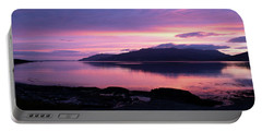 Loch Scridain Sunset Portable Battery Charger