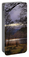 Portable Battery Charger featuring the photograph Loch Venachar by Jeremy Lavender Photography