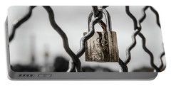 Locked In Paris Portable Battery Charger