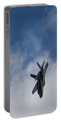 Lockheed Martin F-35 Lightning II Portable Battery Charger by Shirley Mitchell
