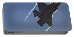 Lockheed Martin F-35b Lightning II Portable Battery Charger by Shirley Mitchell