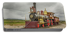 Portable Battery Charger featuring the photograph Locomotive No. 119 by Sue Smith