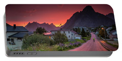 Lofoten Nightlife  Portable Battery Charger
