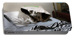 Lois's Favorite Cat Picture In The Whole Wide World Portable Battery Charger